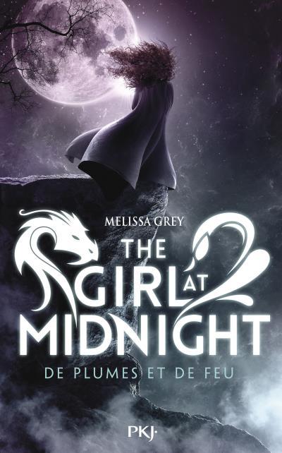 Couverture du premier tome de la saga The Girl at Midnight : De plumes et de feu - Melissa Grey