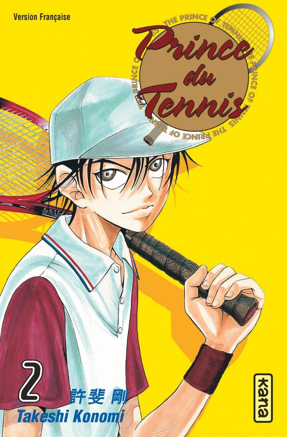 Couverture du deuxième tome de la série Prince du tennis de Takeshi Konomi